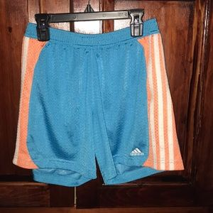 adidas Shorts - Adidas Blue Workout Shorts